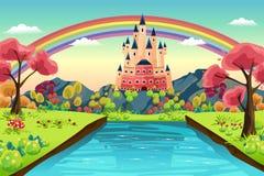Castle Background Royalty Free Stock Photo