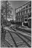 Castle backyard. Mikhailovsky castle in Saint-Petersburg Royalty Free Stock Photos