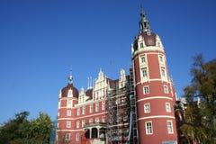 Castle in Bad Muskau Stock Photo
