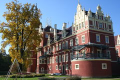 Castle in Bad Muskau Royalty Free Stock Photos