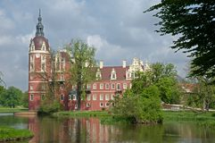 Castle Bad Muskau,Germany Royalty Free Stock Photo