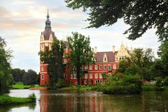 Castle Bad Muskau Royalty Free Stock Photography