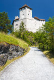 Castle of Balzers Stock Photos