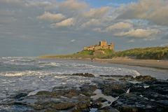 castle bamburgh iii fotografia royalty free