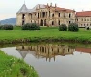 Castle of Banffy, Bontida. Image of popular destination,Castle of Banffy from Bontida, Romania Royalty Free Stock Photos