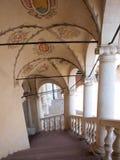 Castle at Baranów Sandomierski, Poland Stock Images