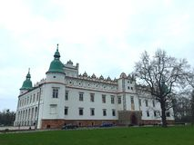 Castle in Baranow Sandomierski (Poland) Royalty Free Stock Photos