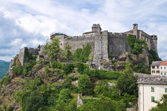 Castle Bardi. Αιμιλία-Ρωμανία. Ιταλία. Στοκ Φωτογραφίες