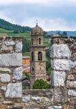 Castle Bardi. Αιμιλία-Ρωμανία. Ιταλία. Στοκ Εικόνες
