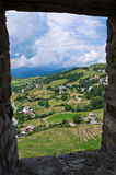 Castle of Bardi. Emilia-Romagna. Italy. Royalty Free Stock Photo