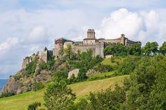 Castle of Bardi. Emilia-Romagna. Italy. Royalty Free Stock Photos