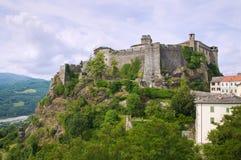 Castle of Bardi. Emilia-Romagna. Italy. Stock Photos