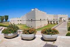 Castle of Barletta. Puglia. Italy. Perspective of the Castle of Barletta. Puglia. Italy stock images