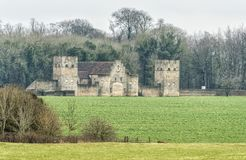 Castle Barn near the village of Badminton, Gloucestershire, UK royalty free stock image