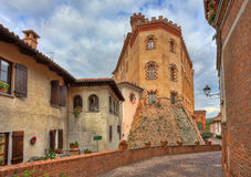 Castle of Barolo. Piedmont, Italy. Royalty Free Stock Photos