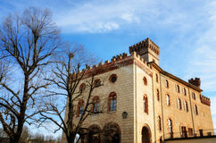 Castle of Barolo Piedmont, Italy Royalty Free Stock Images