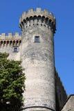 Castle bastion stock image