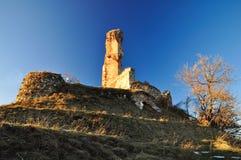 Castle of Battifollo. Stock Photography