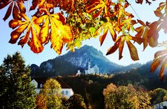 Castle in Bavaria Royalty Free Stock Photography