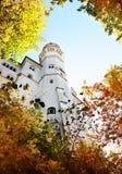 Castle in Bavaria. Neuswanstein castle in Bavaria Germany stock photos