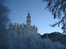 Castle in bavaria. Beautiful old castle in bavaria Royalty Free Stock Image