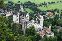 Castle in Bavaria Royalty Free Stock Images
