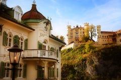 Castle in Bavaria, Germany. Old Hohenschwangau Castle In Bavaria Germany stock photo