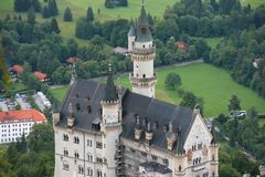 Castle in Bavaria Stock Photography