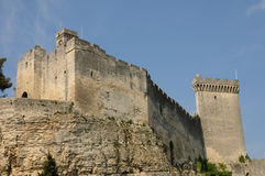Castle of Beaucaire Royalty Free Stock Image