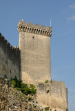 Castle of Beaucaire Stock Photo