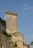 Castle of Beaucaire in Gard Stock Image
