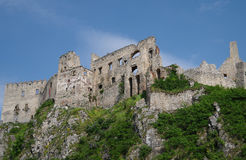 The Castle of Beckov Stock Photography
