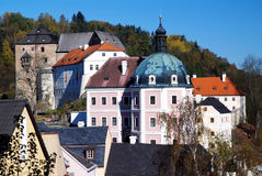 Castle Becov, Czech republic Stock Photos