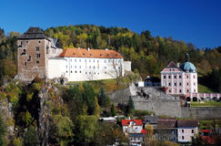 Castle Becov, Czech republic Stock Images
