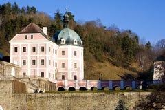 Castle Becov nad Teplou Stock Photo