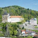 Castle Becov nad Teplou Stock Photography