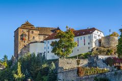 Castle in Becov nad Teplou, Czech Republic royalty free stock images
