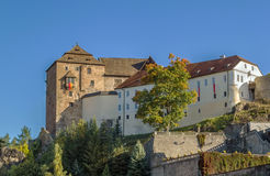 Castle in Becov nad Teplou, Czech Republic Royalty Free Stock Photo