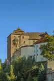 Castle in Becov nad Teplou, Czech Republic Stock Image