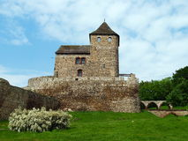 The castle in Bedzin Royalty Free Stock Photography