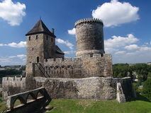 Castle in Bedzin Stock Images