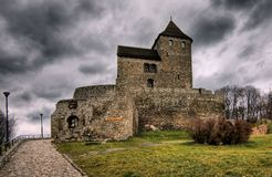 Castle Bedzin (Będzin) Stock Photography