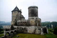 Old, medieval castle in Bedzin, Poland. Historical Castle in Bedzin, Poland Royalty Free Stock Image