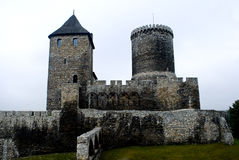 Old, medieval castle in Bedzin, Poland Royalty Free Stock Photos