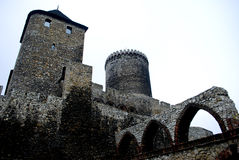 Old, medieval castle in Bedzin, Poland. Historical Castle in Bedzin, Poland Stock Photos