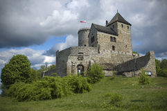 Castle in Bedzin, Poland. Medieval castle in Bedzin, Poland Stock Images