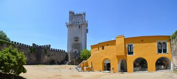 Castle of Beja Royalty Free Stock Photo