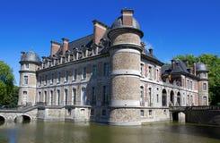 Castle Beleoil in Belgium Stock Photography
