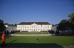 Castle Bellevue in Berlin Stock Image