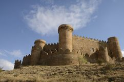 Castle in Belmonte Royalty Free Stock Images